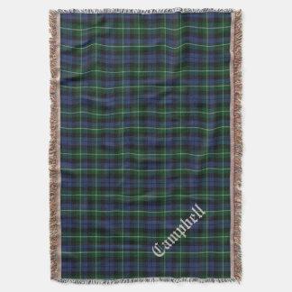 Clan Campbell Tartan Plaid Custom Throw Blanket