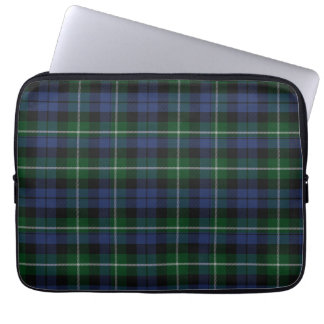 Clan Campbell Tartan Plaid Laptop Cover