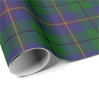 Clan Carmichael Scottish Tartan Wrapping Paper