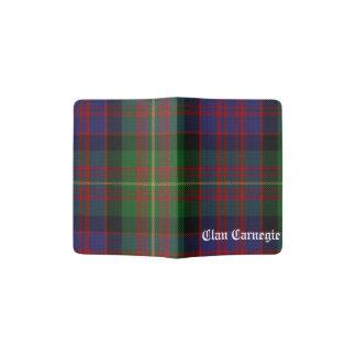 Clan Carnegie Tartan Passport Holder