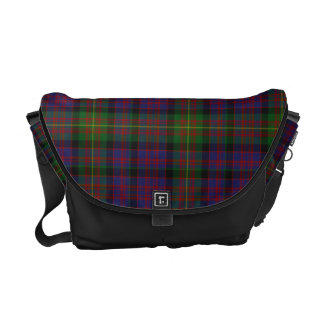 Clan Carnegie Tartan Plaid Messenger Bag