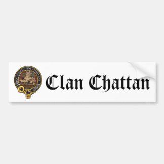 Clan Chattan Crest Bumper Sticker