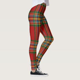 Clan Chattan Giant Tartan Pattern Leggings