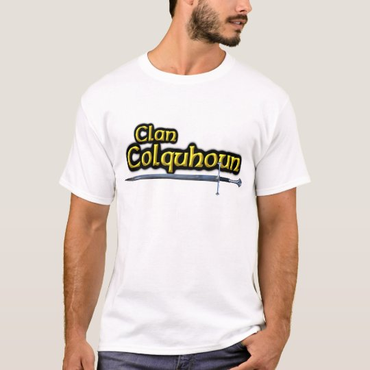 Clan Colquhoun Inspired Scottish T-Shirt