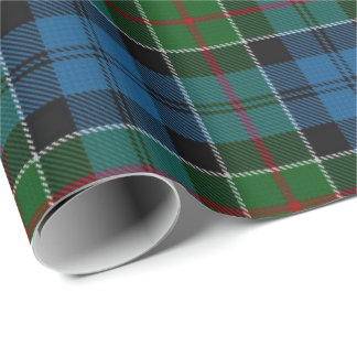 Clan Colquhoun Scottish Tartan Wrapping Paper