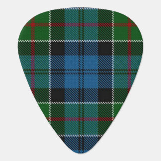 Clan Colquhoun Sounds of Scotland Tartan Guitar Pick