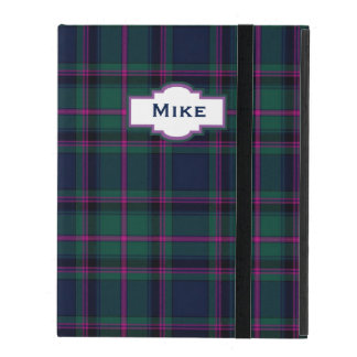 Clan Cooper Plaid Custom iPad Case
