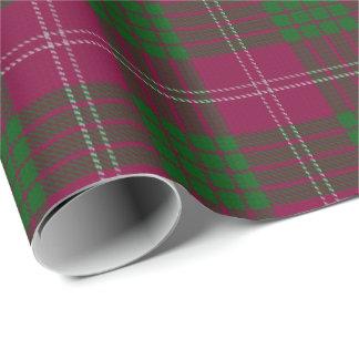 Clan Crawford Scottish Tartan Wrapping Paper