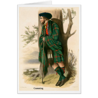 Clan Cumming Card