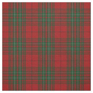Clan Cumming Cummings Red Tartan Plaid Fabric