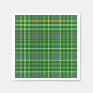 Clan Currie Tartan Paper Napkin