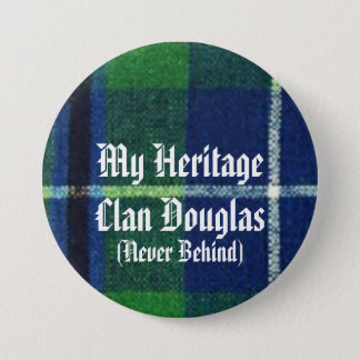 Clan Douglas Heritage Badge, Show Your Colors! 7.5 Cm Round Badge