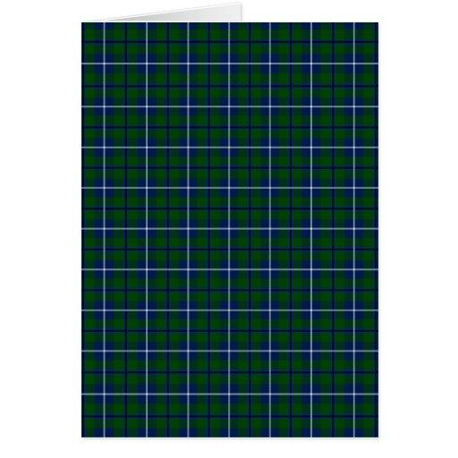 Clan Douglas Tartan Card