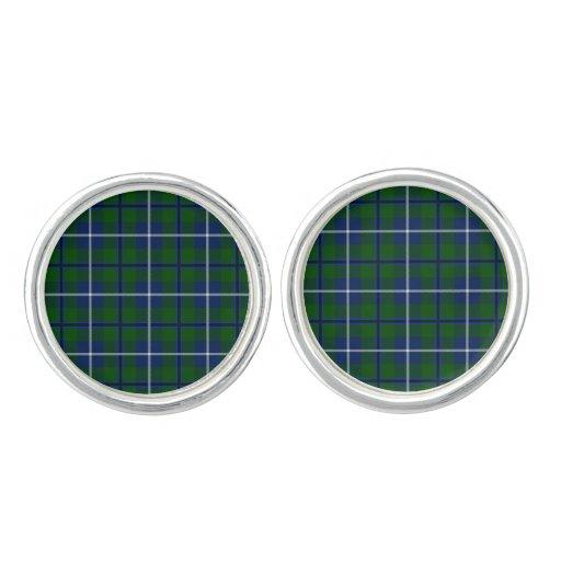 Clan Douglas Tartan Cufflinks