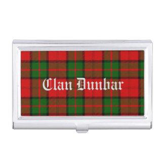Clan Dunbar Tartan Business Card Holder