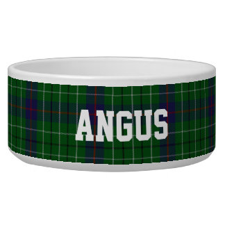 Clan Duncan Custom Tartan Plaid Pet Bowl