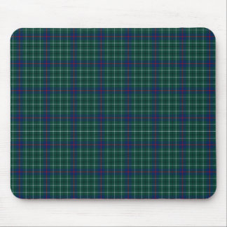 Clan Duncan Green and Blue Scottish Tartan Mouse Pad