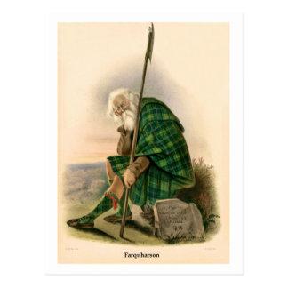 Clan Farquharson Postcard