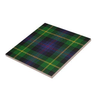Clan Farquharson Scottish Expressions Tartan Tile