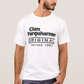 Clan Farquharson Vintage Customize Your Birthyear T-Shirt