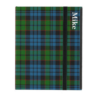 Clan Fletcher Plaid Custom iPad Case