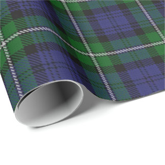 Clan Forbes Scottish Tartan Wrapping Paper