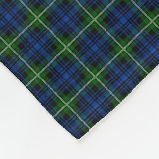 Clan Forbes Tartan Fleece Blanket