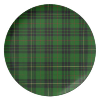 Clan Forbes Tartan Plate
