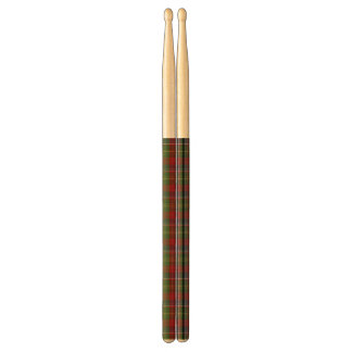 Clan Forrester Tartan Plaid Drumsticks