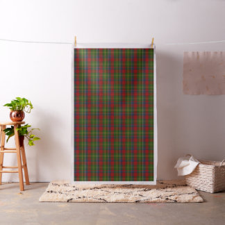Clan Forrester Tartan Plaid Fabric