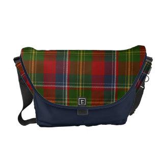 Clan Forrester Tartan Plaid Messenger Bag