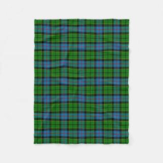 Clan Forsyth Tartan Fleece Blanket