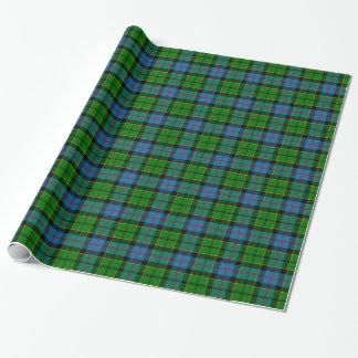 Clan Forsyth Tartan Wrapping Paper