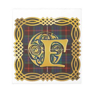 Clan Fraser Ancient Tartan Mug Notepad