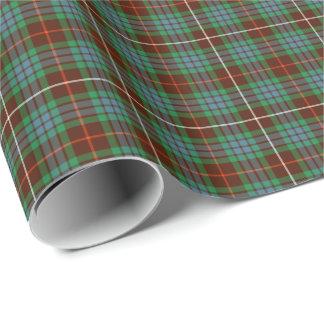 Clan Fraser Hunting Tartan Gift Wrap