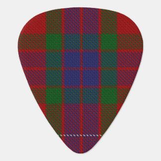 Clan Fraser Sounds of Scotland Tartan Guitar Pick