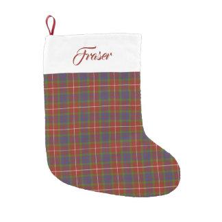 Clan Fraser Tartan Stocking