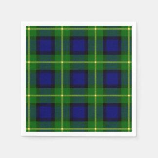 Clan Gordon Tartan Disposable Napkin