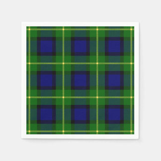 Clan Gordon Tartan Disposable Serviettes