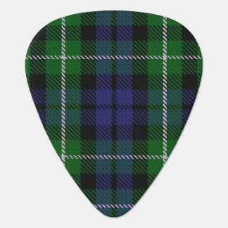Clan Graham Sounds of Scotland Tartan Guitar Pick