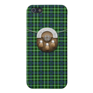 Clan Graham Tartan And Sporran iPhone 5/5S Cases
