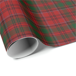 Clan Grant Scottish Tartan Wrapping Paper