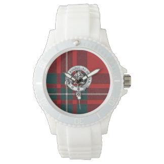 Clan Gregor / MacGregor Watch, White Sport Wristwatch