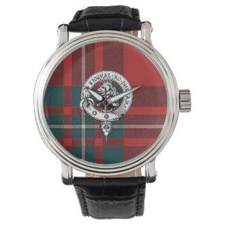 Clan Gregor / MacGregor Wristwatch, Black Band Watch