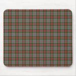 Clan Grey Tartan Mouse Pad