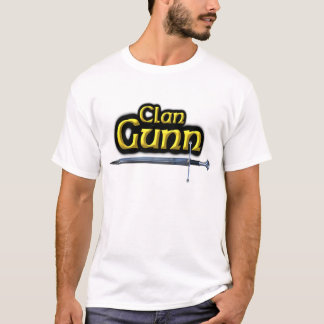 Clan Gunn Inspired Scottish T-Shirt