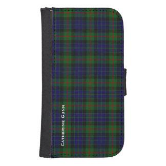 Clan Gunn Plaid Samsung Galaxy S4 Wallet
