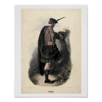 Clan Gunn Poster