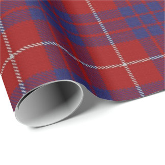 Clan Hamilton Scottish Tartan Wrapping Paper