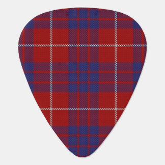 Clan Hamilton Sounds of Scotland Tartan Guitar Pick
